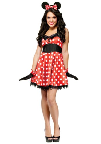 Retro Miss Mouse Adult Costume - Medium/Large
