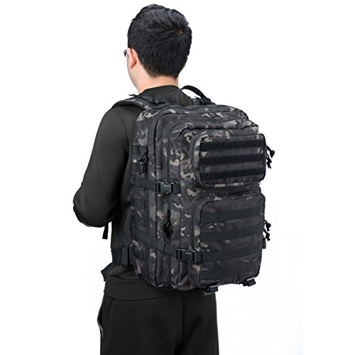 b0ccfeb836 REEBOW GEAR Military Tactical Backpack Large Army 3 Day - Import It All