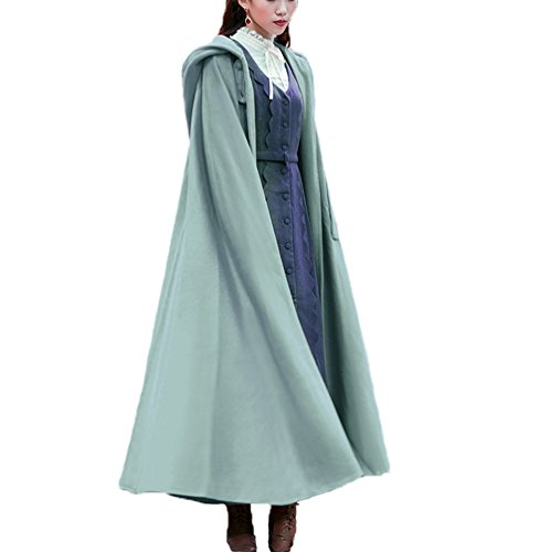 Hooded Wrap Jacket - Olivia's Womens Wraps Elegant Wool Blend Hooded Wedding Cloak