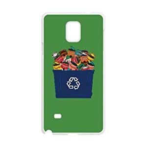 Samsung Galaxy Note 4 Cell Phone Case White RECYCLED WARHOL OJ652762