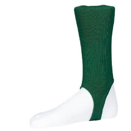 Twin City Solid Stirrup Socks 4'' Dark Green L by Twin City