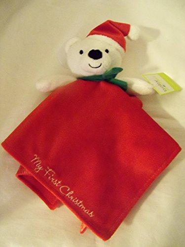 Baby Starter Snuggle Buddy Christmas Bear by Rashti & Rashti