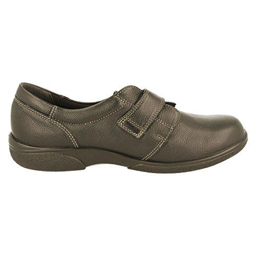 EASYB , Chaussures de ville à lacets pour femme Black