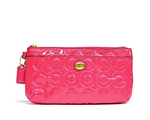 Coach Pink Patent Leather Bag - 7