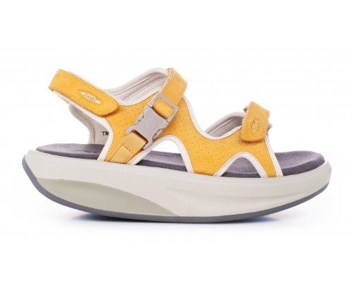 490345ded220 MBT Women s Kisumu 3 Honey Leather Sandal