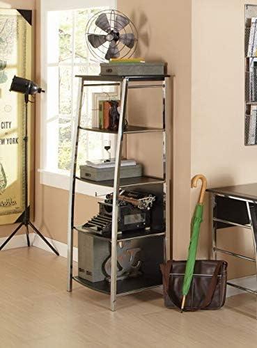 Realspace Mezza 60″H 4-Shelf Bookcase
