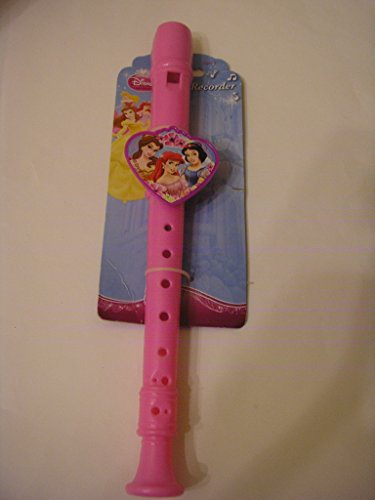 Disney Priness Pink Flute Recorder ~ Belle, Aerial and Snow White
