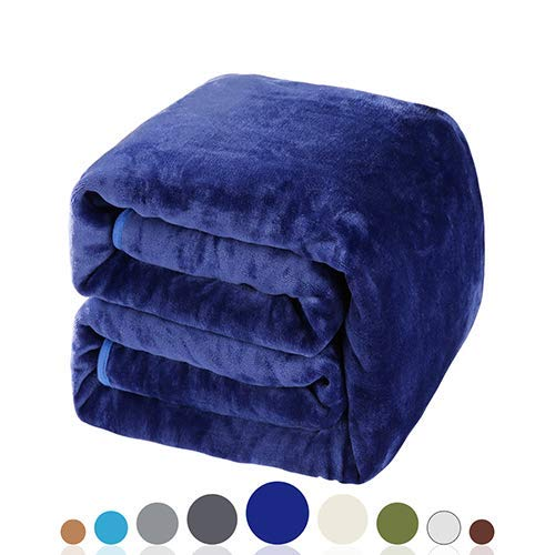 Balichun Luxury 330 GSM Fleece Blanket - Lightweight and Luxurious Feel