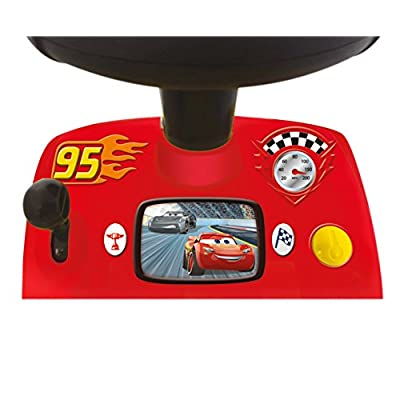 Kiddieland Toys Limited My Lightning McQueen Racer Ride On: Toys & Games