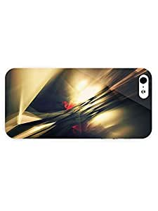 Free Shipping iPhone 5/5s Case Abstract Glass Shards with Full Wrap