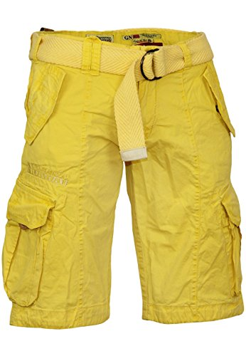 Yellow Homme Shorts Pretoria Bermudas Norway Pour Geographical fqYXY