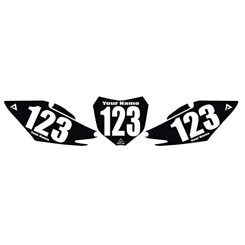 Attack Graphics Number Plate Backgrounds - Fits: Honda CR250R 2002-2003