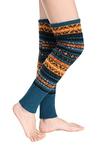 Avidlove-Women-Knee-High-Socks-Winter-Bohemian-Boot-Cuffs-Knit-Crochet-Leg-Warmers