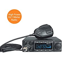 AnyTone AT-6666 10 Meter Radio can convert into 11 meter CB Radio 40 Channel for truck, with SSB(PEP)/FM/ AM /PA mode,High Power Output 15W AM,45W FM,60W SSB(PEP)