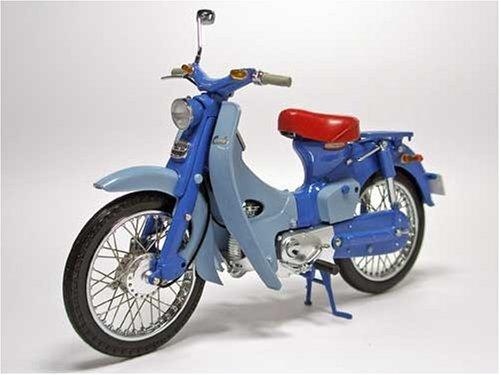 1/12 Honda スーパーカブC100 1958年 ヘルメット付
