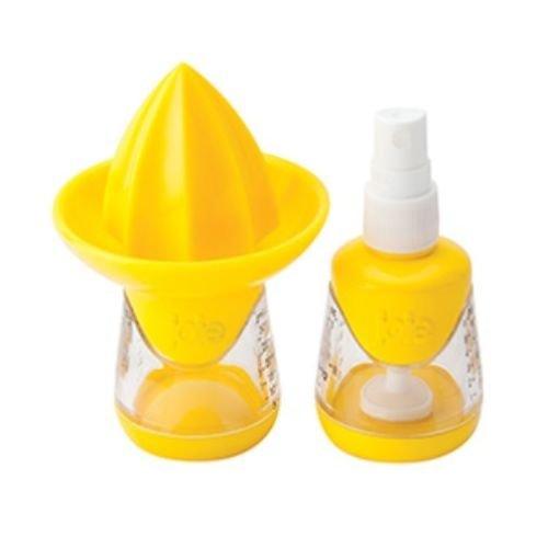 Citrus Squeeze & Mist Sprayer - Lemon Juicer - Joie Strainer Strain Juice Reamer