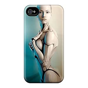 Hard Plastic Iphone 4/4s Cases Back Covers,hot 3d Women Cases At Perfect Customized