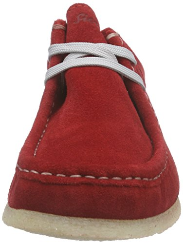 141 Grashopper d Sioux Mocasines Rojo Rot Mujer Fire WdEZaw5Zvg