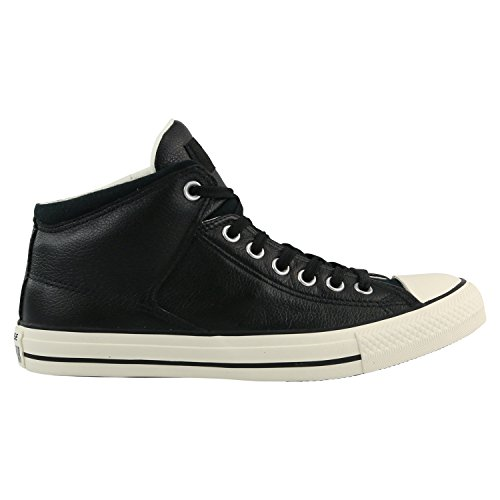 Converse Unisex Chuck Taylor All Star High Street Kurim Mid Sneaker Leather Black 11 D(M) US
