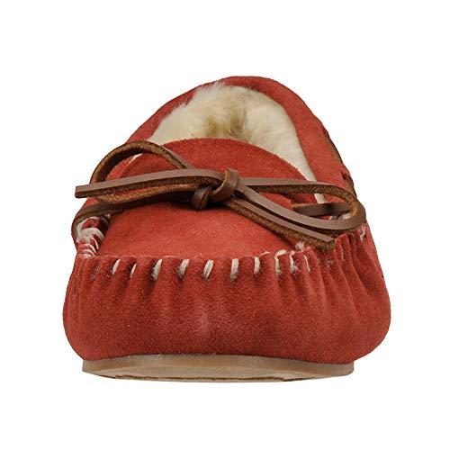 Faux Molly Low Slipper Women's Blitz Tamarac Red Slippers International by q6gOgA