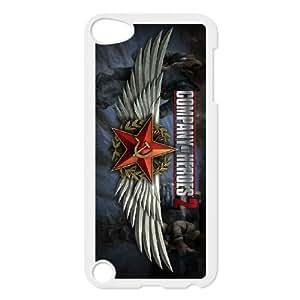 2013 Company Of Heroes 2 Official funda iPod Touch 5 caja funda del teléfono celular blanco cubierta de la caja funda EVAXLKNBC26276