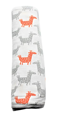 Price comparison product image bestaroo Baby Swaddling Blanket, Giraffe