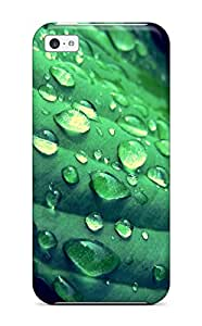 Holly M Denton Davis's Shop 4311071K834332447 dew on a green leaf Photography Art Personalized iPhone 5c cases