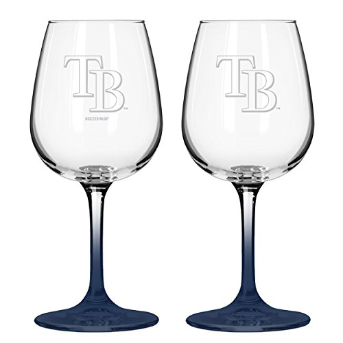 Tampa Bay Rays Glass (MLB Tampa Bay Rays Boelter Wine Glass)
