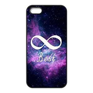 iphone5 5s phone case Black for stars in space - EERT3405533