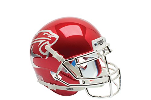 NCAA Houston Cougars Red Chrome Replica Helmet, One Size by Schutt