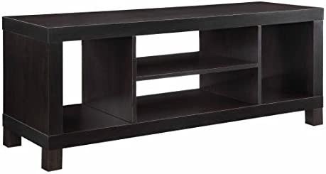 Mainstay.. TV Stand for TVs Black Oak, 47.24 x 15.75 x 19.00 Inches