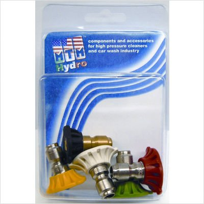 UPC 013964388480, 5 Piece 4000 PSI 3.0 Orifice Quick Connect Nozzle Set