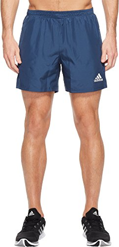 adidas Men's Sequencials Run Shorts, Mineral Blue, Large/5