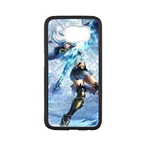 games Ashe in League of Legends Samsung Galaxy S6 Cell Phone Case Black FRGAG6410917590756