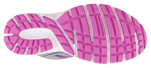 Nuovo Bilancia Da Donna 543v1 Comfort Da Corsa Scarpa Acciaio / Titanio