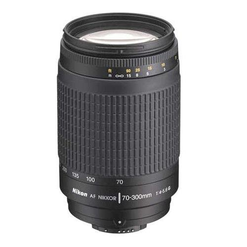 Nikon 70-300 mm f/4-5.6G Zoom Lens with Auto Focus for Nikon DSLR Cameras (Digital Flash Ace)