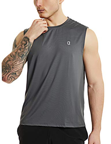 Bewinds Men's Performance Sleeveless Workout Shirt Quick-Dry Running Muscle Bodybuilding Athletic Tank - Running T-shirt Tank Top