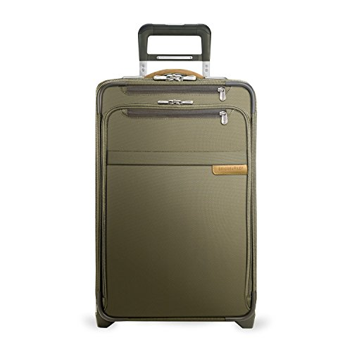 Briggs & Riley Baseline Domestic Carry-On Expandable Upright U122CX (OLIVE) by Briggs & Riley
