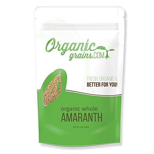 Organic Amaranth - NON-GMO 3lb (Flour Wheat No)