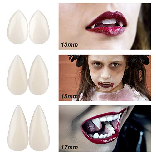Halloween Vampire Teeth, Azure Vampire Teeth Fangs Halloween