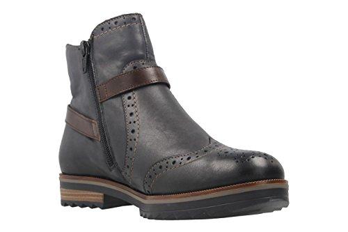 Remonte Damen Boots - Blau Schuhe in Übergrößen