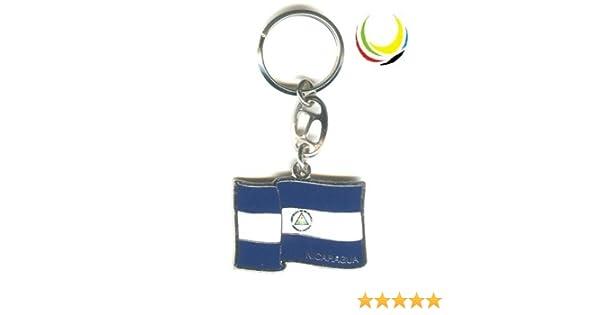 Keychain NICARAGUA FLAG