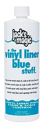 JACK'S MAGIC The Vinyl Liner Blue Stuff Pool Stain Preven...