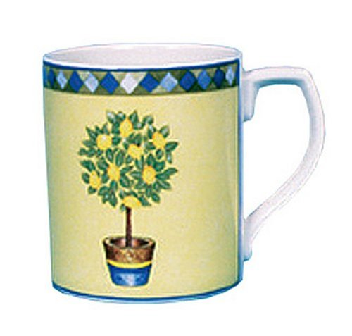 Royal Doulton Carmina 12-Ounce Mug, Lemon Tree