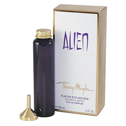 Thierry Mugler Alien Eau De Parfum for women 2 oz Refill Eco-Refill Bottle