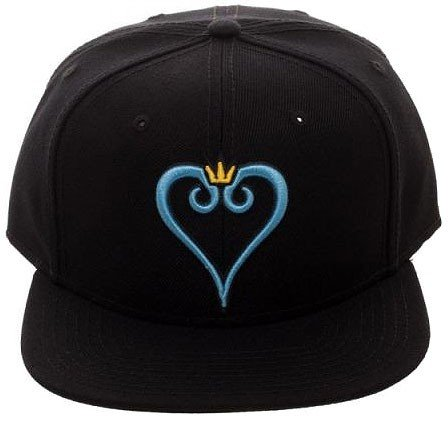 Bioworld Kingdom hearts Embroidered Logo Snapback Baseball Hat