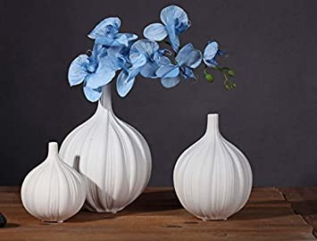 Chinesischen Stil Weiße Porzellan Einfache Und Elegante Keramik Knoblauch  Vase Heimtextilien Dekorationen Möbel Ornamente Kreative Möbel