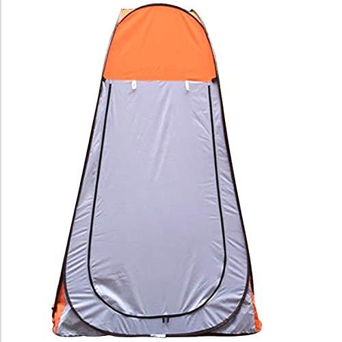 LSWGG Pop up Toilettenzelt Umkleidezelt, Camping Duschzelt Outdoor Umkleidekabine Mobile Toilette mit Abnehmbar Zeltboden und Haube, Wasserfest Tragbar