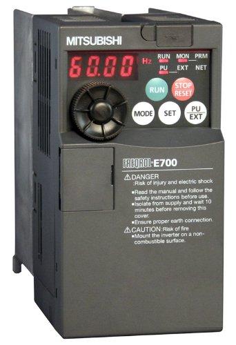 Mitsubishi E700 Series FR-E740-060SC-NA 480V 3HP 2.2kW Safety Micro-VFD