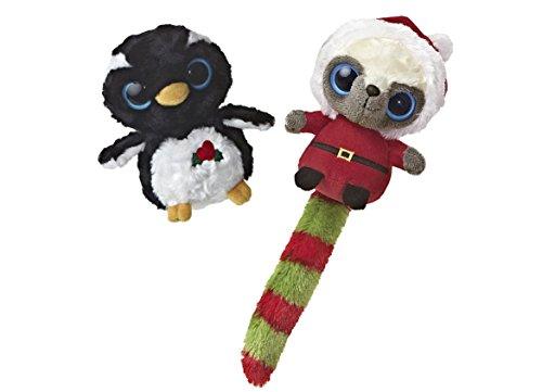 Jingle Bells Light Sets (Aurora Christmas Santa Wanna Be and Genee Penguin YooHoo Plush 5